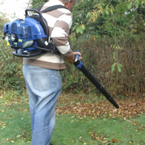 Einhell backpack leaf blower