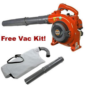 Italian made: Oleo-Mac BV270 with free vac kit