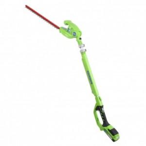 Greenworks 24 Volt pole hedgetrimmer