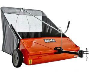 "A Clean Sweep: Agri-Fab Smart Sweep 44"" Towed Leaf Sweeper."