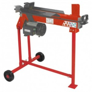 MD 5 ton log splitter on stand