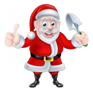 He's on his way: Raise a glass to good old Santa