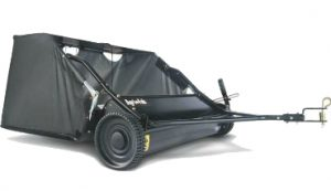 Sweeping Statement: The Agri-Fab 38in towed lawn sweeper