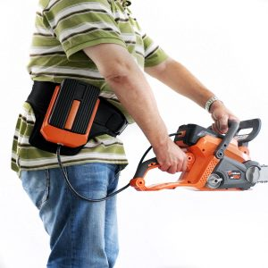 Light and powerful: Redback Cordless Chainsaw