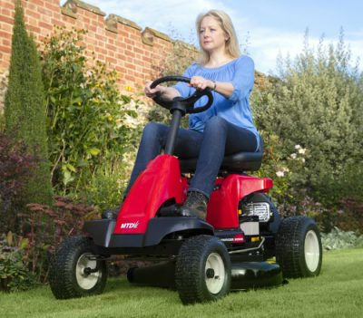 LAwnflite 2-in-1 ride-on mower