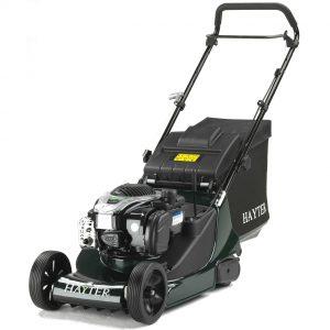 New HArrier 41 push lawnmower