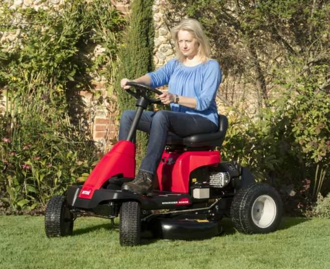 Lawnflite ride-on mower