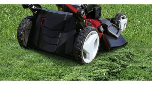 Einhell variable speed lawnmower