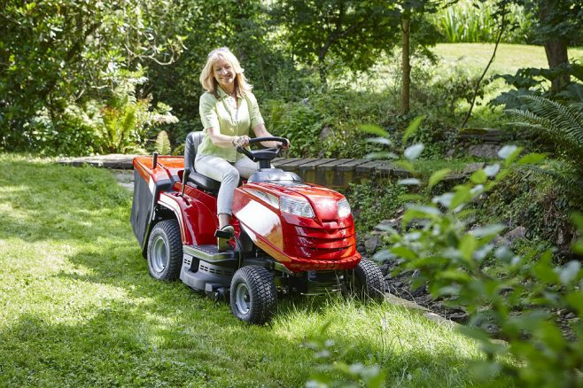 Mountrfield lawn and garden tractor