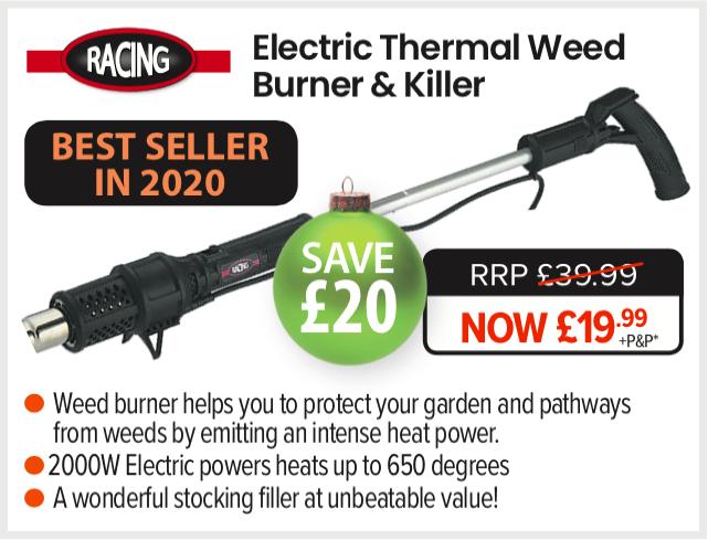 Racing Garden Electric Thermal Weed Burner & Killer