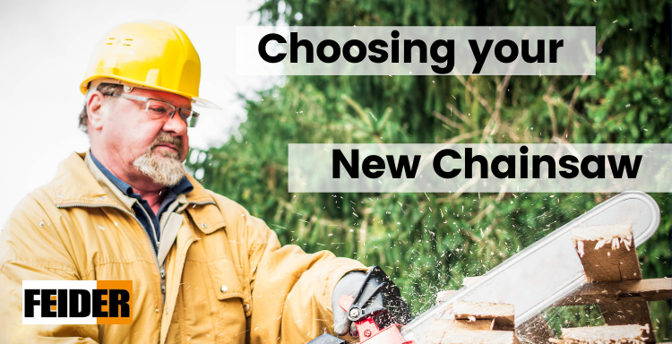Choosing a Chainsaws | Feider PRO Petrol Chainsaw Range