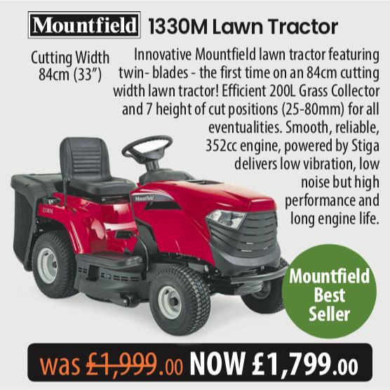 Mountfield  1330M - Telegraph Offer MowDirect